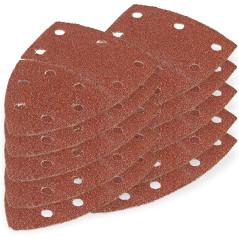 DEMA Brúsny papier pre delta brúsku 102x152 mm K40, 10 ks