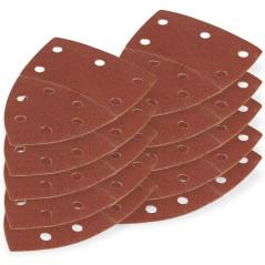 DEMA Brúsny papier pre delta brúsku 102x152 mm K80, 10 ks