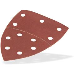 DEMA Brúsny papier pre delta brúsku 102x152 mm K240, 10 ks