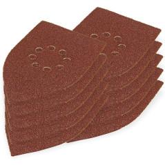 DEMA Brúsny papier pre delta brúsku 105x175 mm K40, 10 ks