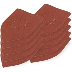 DEMA Brúsny papier pre delta brúsku 105x175 mm K120, 10 ks