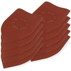 DEMA Brúsny papier pre delta brúsku 105x175 mm K180, 10 ks