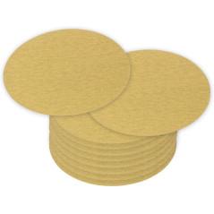 DEMA Brúsny papier pre excentrickú brúsku 115 mm P180, 10 ks