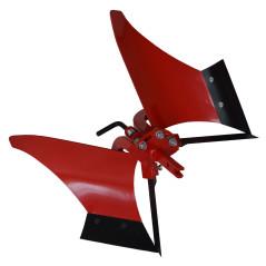 TECAK Pluh orací 2-stranný obracací PO-2 90° 40x20 TK-014-00C