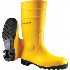 Dunlop Bezpečnostné čižmy Protomastor Full Safety S5 žlté, veľkosť 40