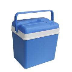 EDA Plastiques Prenosný chladiaci box pasívny 24 litrov, modrý