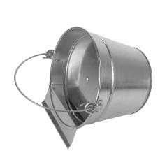 MenaVET Napájacie vedro pre hydinu 7 L pozinkované