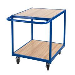 DEMA Prepravný vozík s dovomi plošinami do 150 kg Kompakt