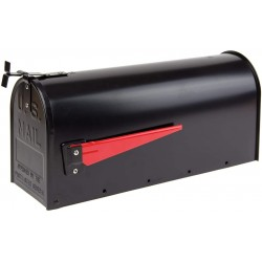 DEMA Hliníková americká poštová schránka, čierna