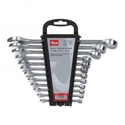 DEMA Očko-vidlicové kľúče v držiaku ECO 6-22 mm, 12-dielna sada