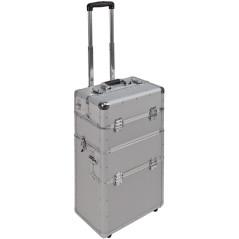DEMA Hliníkový pojazdný kufor na náradie 3v1 AluTrolley