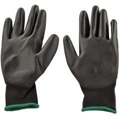 DEMA Pracovné rukavice s PU povrchovou úpravou Basic, veľkosť 8