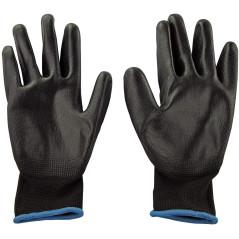 DEMA Pracovné rukavice s PU povrchovou úpravou Basic, veľkosť 9