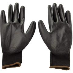 DEMA Pracovné rukavice s PU povrchovou úpravou Basic, veľkosť 10