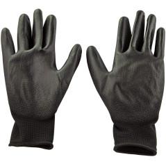 DEMA Pracovné rukavice s PU povrchovou úpravou Basic, veľkosť 11