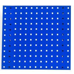 Dierovaná stena na náradie modrá 49,3x45,6 cm