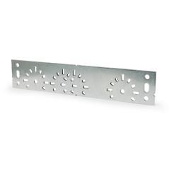 Montážna lišta na nástennú uhlovú spojku, 250x48 mm