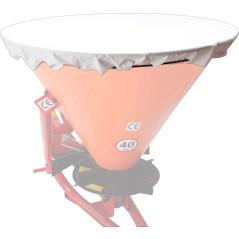 DEMA Krycia plachta pre rozmetadlo hnojiva a zimného posypu 400 L, biela