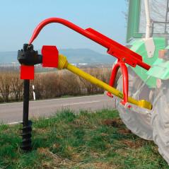 Zemný vrták na vývodový hriadeľ traktora 150 mm