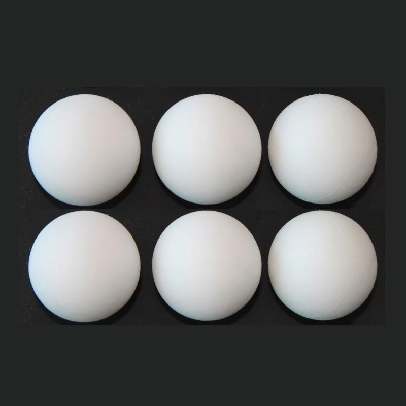 DEMA Loptičky pre stolný futbal 35 mm, 6-dielna sada