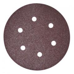 Brúsny papier pre excentrickú brúsku 150 mm K40, 10 ks