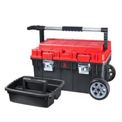 Pojazdný kufor na náradie HD Trophy 680x400x355 mm červený