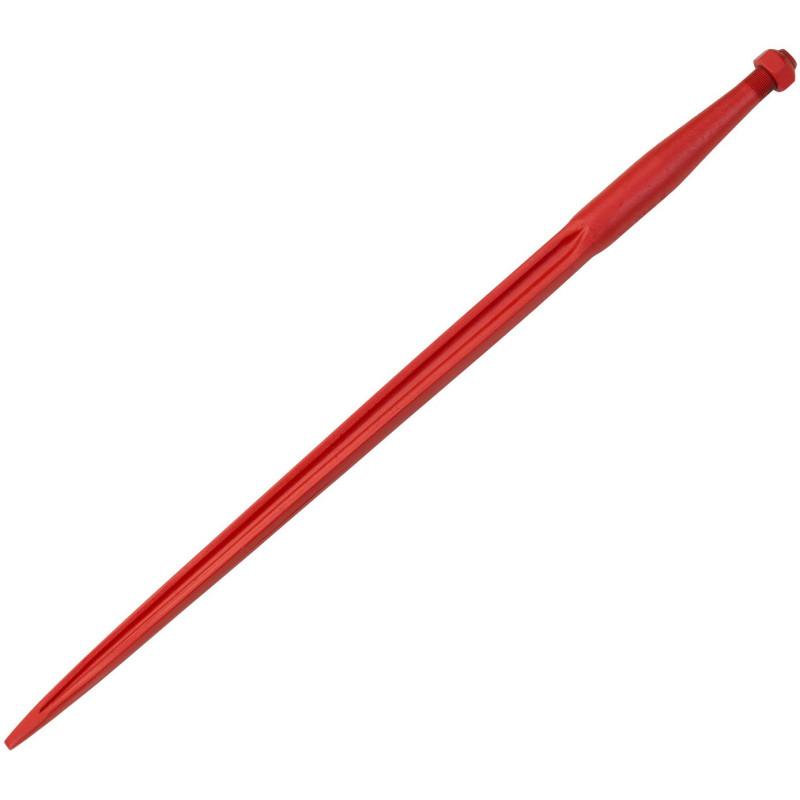 Hrot predný nakladací 22x1,5/810 mm, červený
