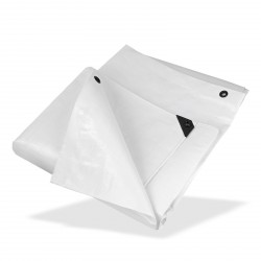 DEMA Nepremokavá plachta zakrývacia 2x3 m 210 g/m2, biela
