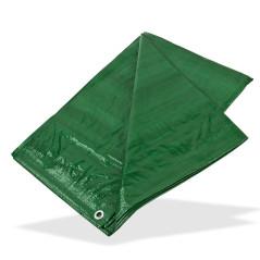 DEMA Nepremokavá plachta zakrývacia 1,5x6 m 90 g/m2, zelená