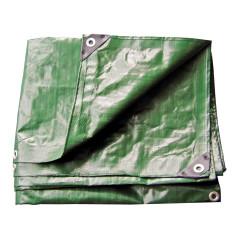 DEMA Nepremokavá plachta zakrývacia 3x4 m 210 g/m2, zelená