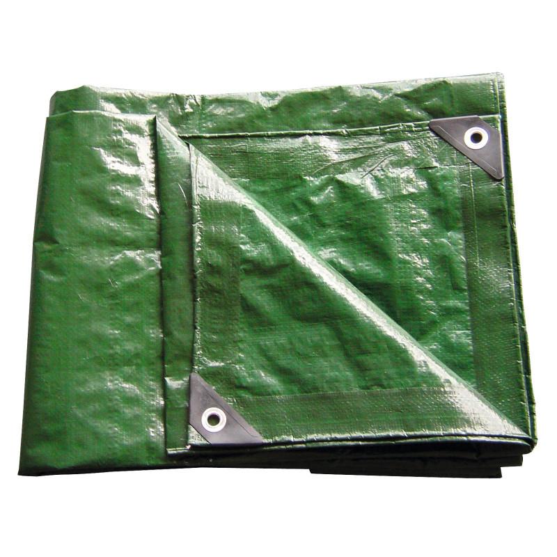 DEMA Nepremokavá plachta zakrývacia 6x10 m 140 g/m2, zelená