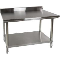 DEMA Nerezový pracovný stôl 120x60 cm DAT 120