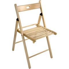 DEMA Drevená sklopná stolička Buche