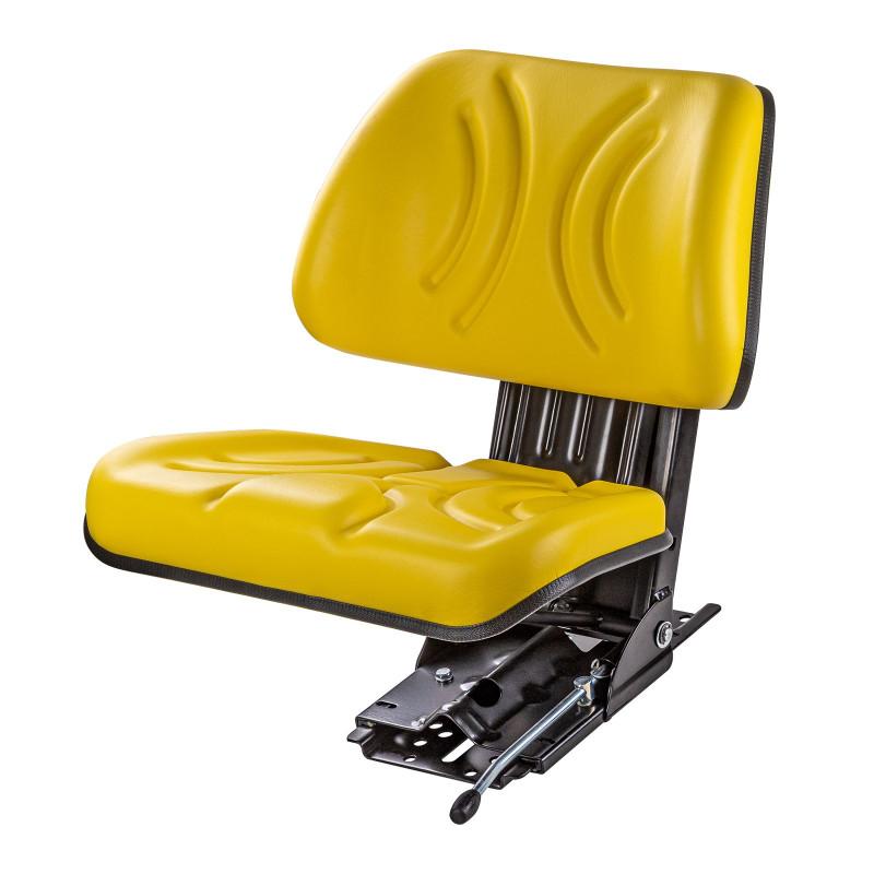 DEMA Odpružené sedadlo na traktor, žlté