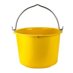 DEMA Stavebné vedro 12 litrov, žlté
