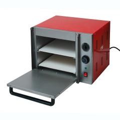 DENNER Elektrická pec na pizzu dvojposchodová PO-2X30 230 V 1,8 kW
