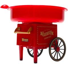 DENNER Stroj na cukrovú vatu s vozíkom Retro