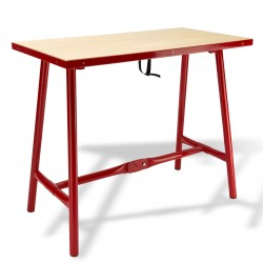 DEMA Profi skladací pracovný stôl L 100x50 cm