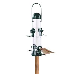 DEMA Kŕmidlo pre vtáky stĺpové 16,5x15,5x38 cm Piepmatz