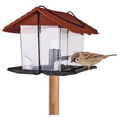 DEMA Kŕmidlo / domček pre vtáky plast 31x22,5x21 cm Susi