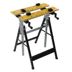 DEMA Skladací pracovný stôl upínací DWB100 SB
