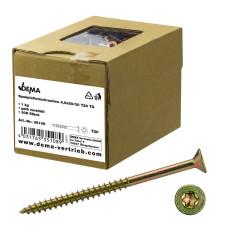 DEMA Skrutky do drevotriesky čiastočný závit 4,5x50/30 T20, 1 kg