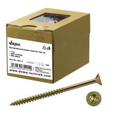 DEMA Skrutky do drevotriesky čiastočný závit 5x50/30 T25, 1 kg