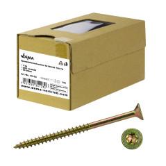 DEMA Skrutky do drevotriesky čiastočný závit 6x160/66 T30, 1 kg
