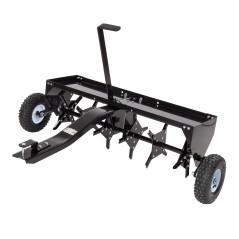 DEMA Vertikutátor / prevzdušňovač trávnikov 102 cm pre záhradný traktor