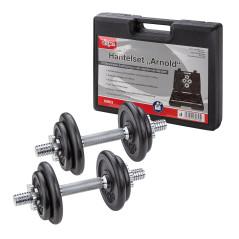 Súprava činiek na posilňovanie 20 kg Arnold