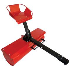 TECAK Valec trávny so sedačkou VT-100 PLUS TK-019-001