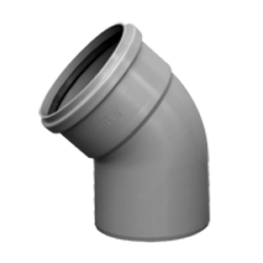 HT odpadové koleno 100/87° HTB