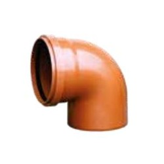 PVC koleno pre kanalizačný systém SN4 100/45 KGB