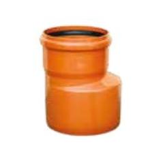 PVC redukcia pre kanalizačný systém SN4 125/100 KGR